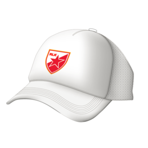 Red Star Belgrade 2020 White Trucker Cap