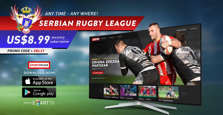 Digitalni razvoj Srpske Ragbi Lige. Potpisan prvi ugovor sa OTT platformom Sports Flick.