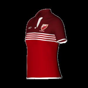Sublimated Women Polo Shirt Raglan Sleeves